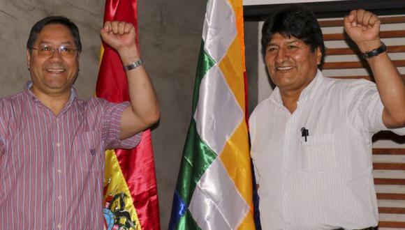 Arce es visto por algunos como el delfín de Evo Morales. (ANADOLU AGENCY).