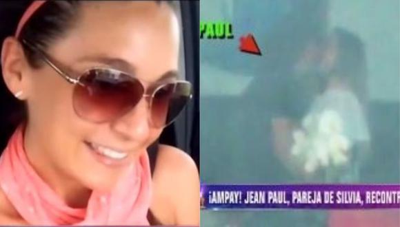 Así reaccionó Analía Jiménez cuando le preguntan por 'ampay' con Jean Paul Gabuteau. (Foto: Captura ATV)