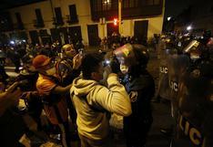 Vacancia presidencial: se registraron incidentes durante protestas en la avenida Abancay