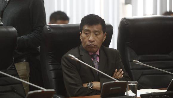 Moíses Mamani negó las acusaciones en su contra por presuntos tocamientos indebidos. (Foto: César Campos)