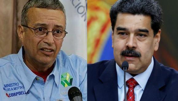 Venezuela: Maduro destituye a Luis Motta Domínguez, ministro de Energía Eléctrica. (El Nacional / Reuters)