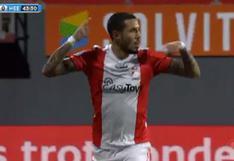 Sergio Peña marcó su primer gol del año: peruano firmó el 1-0 en el Emmen-Heerenveen | VIDEO