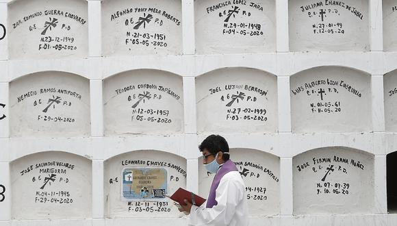 En lo que va de este mes, se han registrado 193 muertes al día por COVID-19, según el Minsa. (Foto: César Campos)
