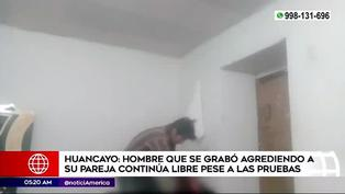 Huancayo: sujeto se graba golpeando a su pareja de 17 años en estado de gestación