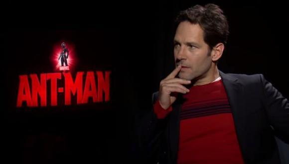 """""""Ant-Man"""": Paul Rudd y la entrevista más incómoda de su vida"""