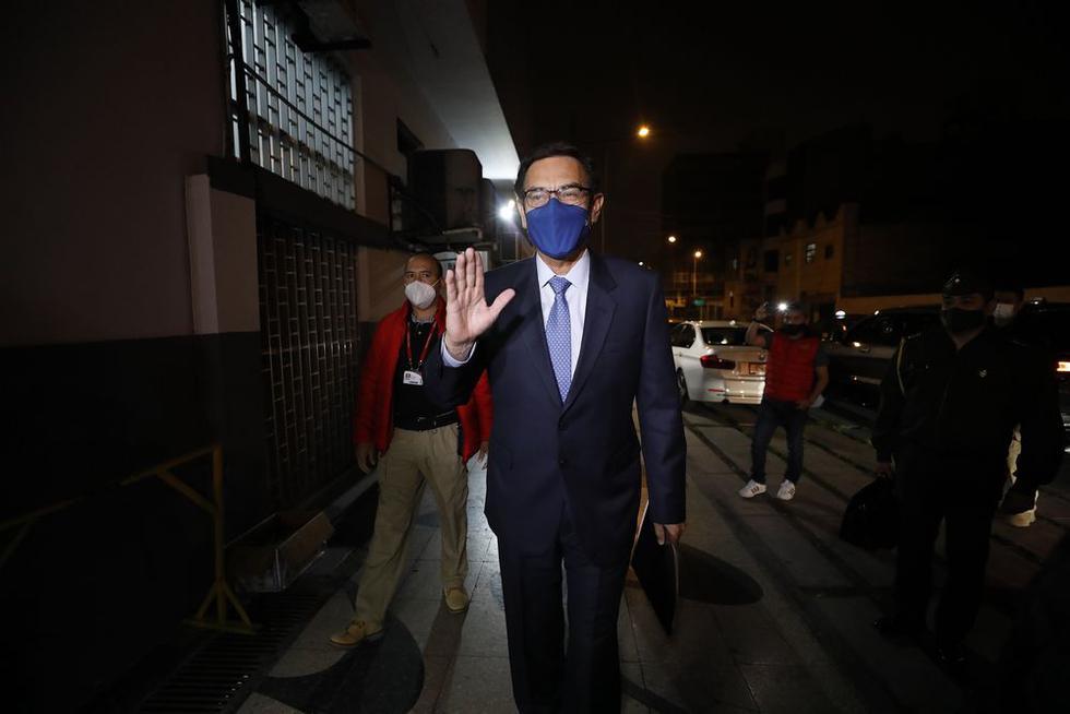 Presidente de la República Martín Vizcarra, rechazó categóricamente denuncia de aspirante a colaborador eficaz. Foto: César Bueno /@photo.gec