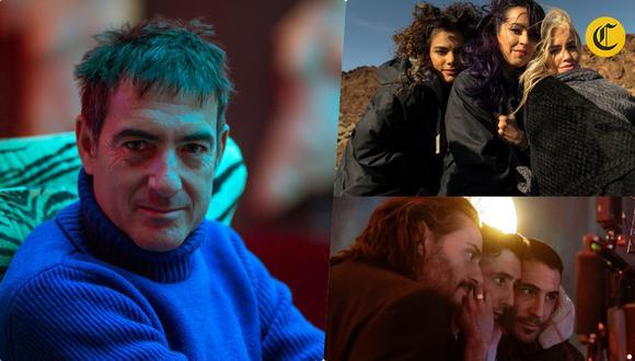 """Álex Pina (izquierda) y Esther Martínez son los creadores de """"Sky Rojo"""", nueva serie de Netflix. También son productores de la exitosa """"La casa de papel"""". (Fotos: Netflix)"""
