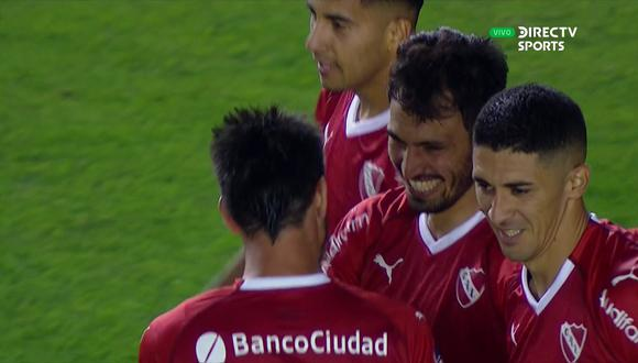 Independiente vs. Binacional: mira el golazo desde fuera del área de Juan Sánchez Miño para el 3-0   Foto: Captura
