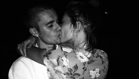 Hailey Baldwin le dedicó romántico mensaje a su esposo Justin Bieber en sus redes sociales. (Foto: Instagram)