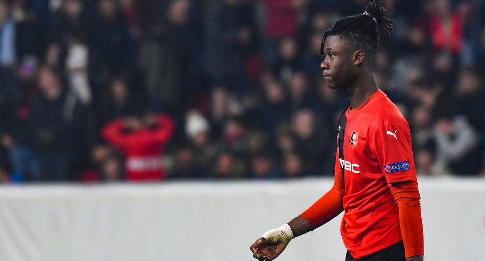 Camavinga tiene 17 años y ya disputó 24 partidos con Stade Rennes. (Foto: AFP)
