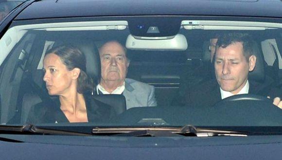 Messi y Blatter despidieron a Julio Grondona en su funeral