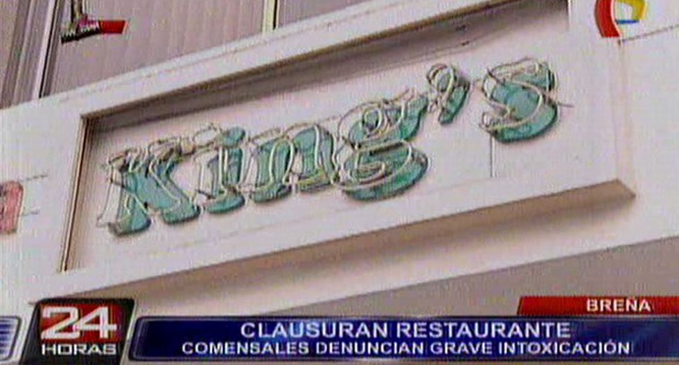 Breña: clausuran restaurante de Av. Venezuela por insalubre