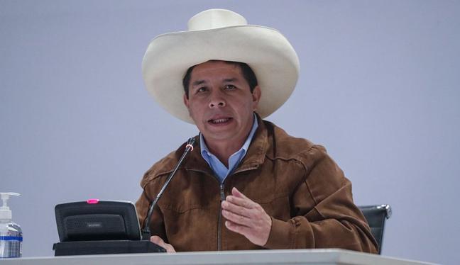 El partido del Gobierno, Perú Libre, promueve la convocatoria de la Asamblea Constituyente a través de un referéndum. (Foto: Presidencia)