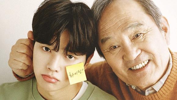 """Song-Kang y Park In-Hwan son los protagonistas de """"Navillera"""", un dorama en el que un anciano decide cumplir su sueño de aprender ballet."""