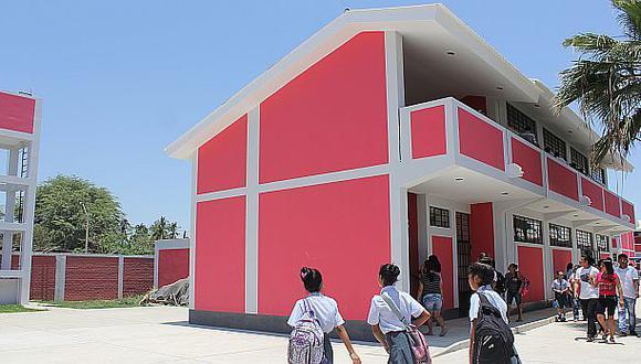 Regiones utilizaron S/.603 millones para mejoras en colegios