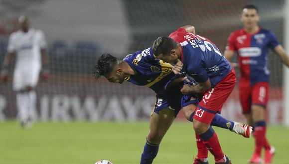 Zambrano lleva dos duelos seguidos como titular con Boca Juniors. (Foto: AFP)