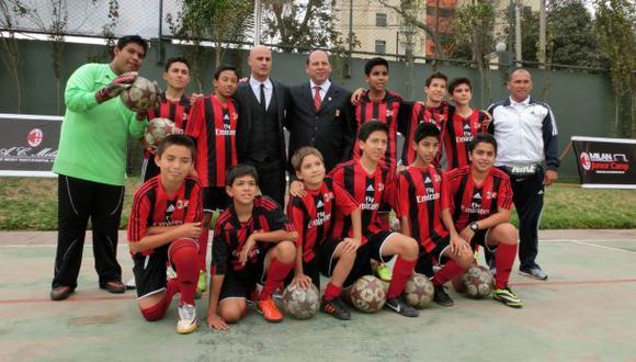 AC Milan abrirá su primera escuela latina de menores en Lima