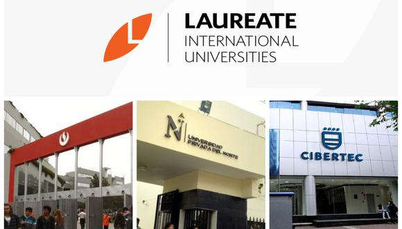 Laureate International Universities  tiene como sus negocios en el país a la Universidad Peruana de Ciencias Aplicadas (UPC), la Universidad Privada del Norte (UPN) y el instituto Cibertec.