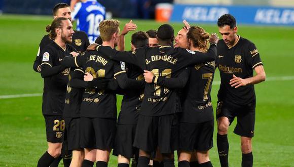 Barcelona se impuso ante Real Sociedad por LaLiga. Lionel Messi realizó dos golazos para el conjunto 'blaugrana'.