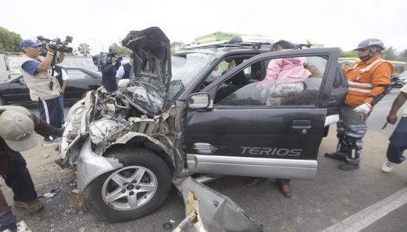 La mitad de accidentes en Lima Norte son por choferes ebrios