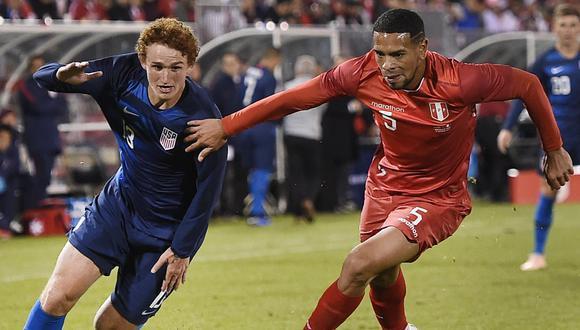 Perú vs. Estados Unidos: Ricardo Gareca habló del rendimiento de Alexander Callens | VIDEO. (Video: Movistar Deportes / Foto: AFP)