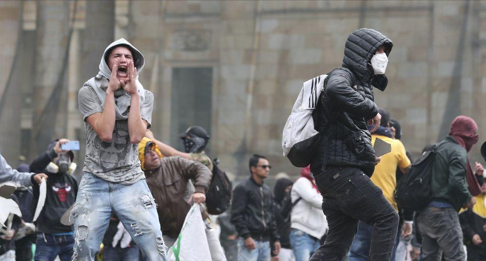 Por otro lado, Enrique Peñalosa, hizo un llamado a los ciudadanos para que se unan y rechacen a la gente violenta. (Foto: AFP)