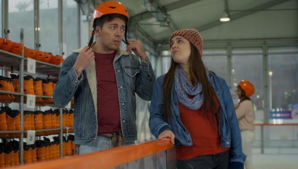 """""""Sí mi amor: La Película"""" es la cinta peruana protagonizada por Julian Zucchi y Yiddá Eslava. (Foto: Captura de video)"""