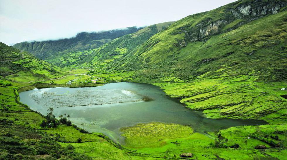 La laguna Sierpe, además de acoger patos silvestres, posee gran cantidad de truchas, que se pueden consumir en el pueblo. (Foto: Martín Chumbe)
