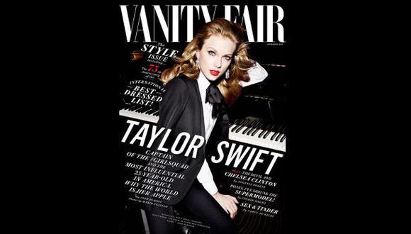 Mario Testino fotografió a Taylor Swift para Vanity Fair