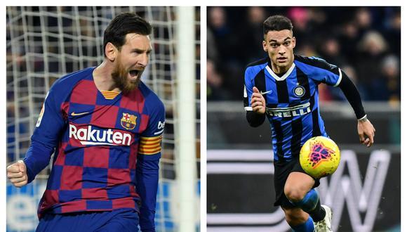 Lautaro Martínez ha dejado una buena impresión por sus buenas actuaciones en el Inter de Milán. (Fotos: AFP)