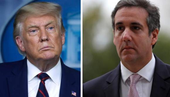"""El abogado Michael Cohen retrata en su libro """"Disloyal: A Memoir"""" varios comentarios polémicos que habría hecho su excliente, Donald Trump."""
