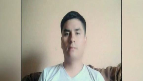 El agresor,Wilder Andrés Villanueva Carranza, está fugado. (Foto: Captura/América Noticias)