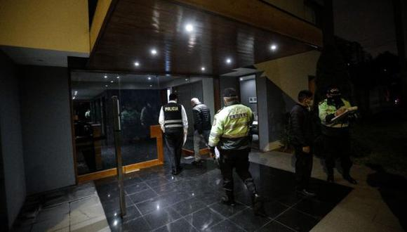 El robo más reciente se registró el lunes 12 al promediar las 9 p.m. en un edificio de la calle Víctor Maúrtua. (Foto: Joel Alonzo/GEC)