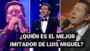 Los mejores imitadores de Luis Miguel en los programas concurso