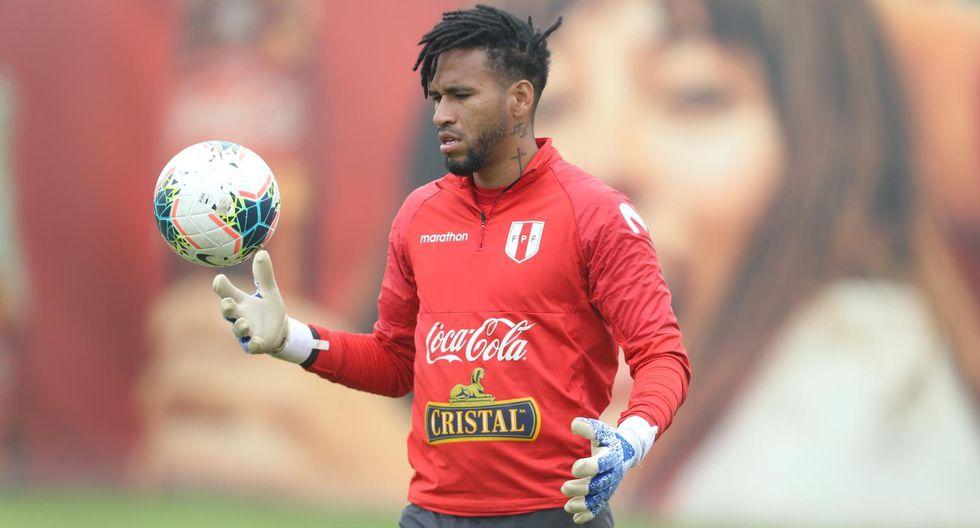 Pedro Gallese en el arco. (Foto: GEC)