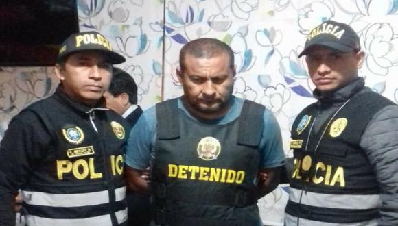 El alcalde Willington Ojeda Guerra; 'Doctor', es acusado de liderar esta organización criminal (Foto: Mininter).