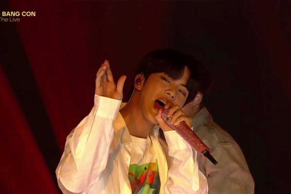 """Fanáticas de """"Bang Bang Con: The Live"""" compartieron la transmisión del concierto que tenía calidad de exclusivo para seguidores que pagaron su entrada. (Foto: Captura)"""