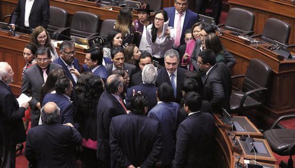 El 30 de setiembre del 2019, Salvador del Solar planteó la confianza en una sesión con altercados. (Foto: Anthony Niño de Guzmán/ El Comercio)