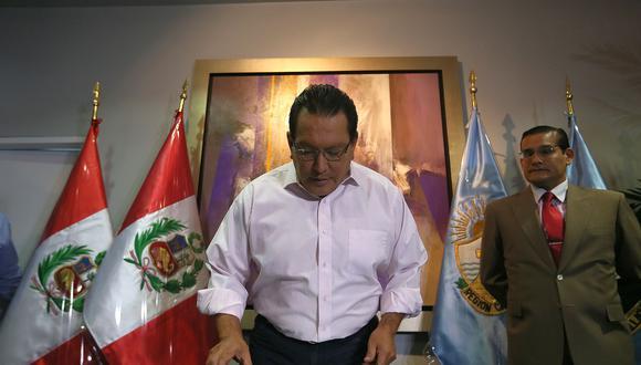 El Ministerio Público pide 36 meses de prisión preventiva contra el ex gobernador regional del Callao, Félix Moreno. (Foto: Miguel Bellido/ Archivo El Comercio)