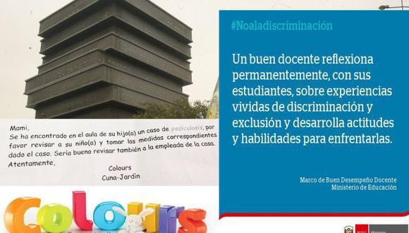 La Molina: Minedu responde sobre carta discriminatoria de nido