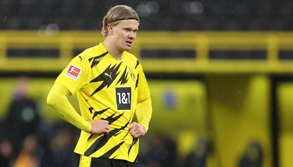 Borussia Dortmund espera que Erling Haaland no pida su carta de libertad (Foto: EFE)