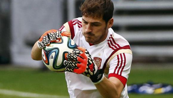 """Casillas: """"Nuestro objetivo es conseguir la segunda estrella"""""""