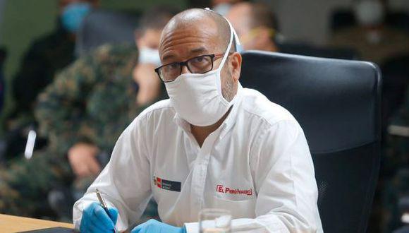 Víctor Zamora se despidió esta mañana del cargo que asumió hace casi cuatro meses. (Foto: GEC)