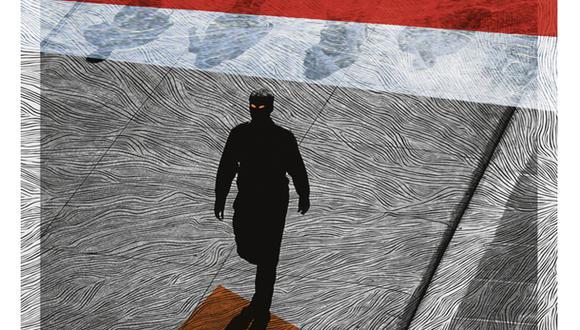 """""""La caída de Saavedra marcó un antes y un después. Hizo evidente que Fuerza Popular no quería que la gestión del nuevo gobierno tuviera éxito"""". (Ilustración: Giovanni Tazza)"""