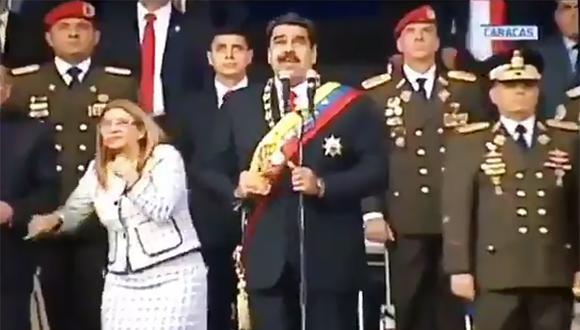Turquía, Nicaragua, Cuba y Bolivia también condenaron el atentado sufrido por el mandatario venezolano durante una ceremonia protocolar en Caracas. (Foto: AFP)