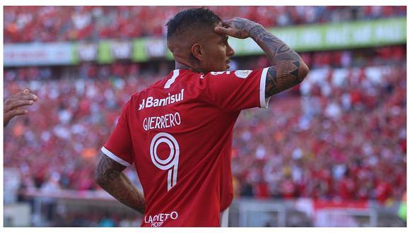 Paolo Guerrero va por importante récord personal frente a River Plate por la Copa Libertadores