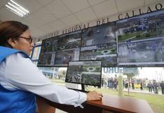 Callao: instalarán 334 cámaras de seguridad en ocho zonas de mayor incidencia delictiva