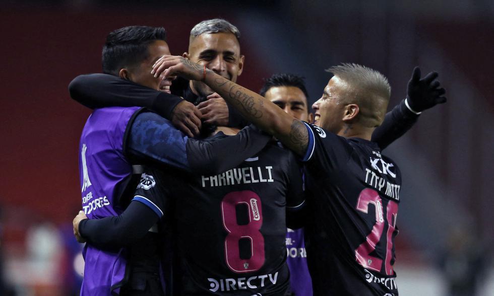 Independiente del Valle eliminó a Unión Española y está en Fase 3 de Copa Libertadores 2021   Foto: AFP