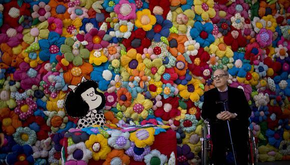 """""""El mundo según Mafalda"""" (Buenos Aires, 2014) (Foto: AP)"""