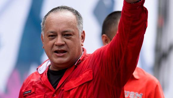 Diosdado Cabello (Foto: AFP)